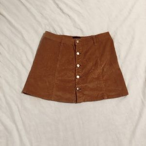 Dresses & Skirts - Short Corduroy Button Skirt